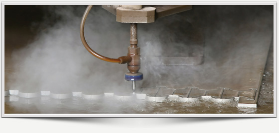 chicago waterjet cutting marble granite countertops