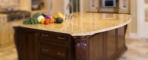 granite kitchen counter top 493x201 granite countertops
