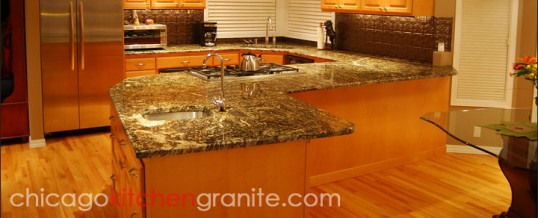 Chicago Kitchen Granite Countertops: Luxurious, Sturdy, and Resilient