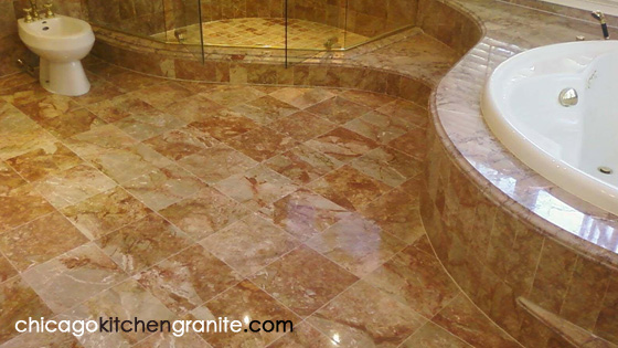 marble floor chicago granite countertops